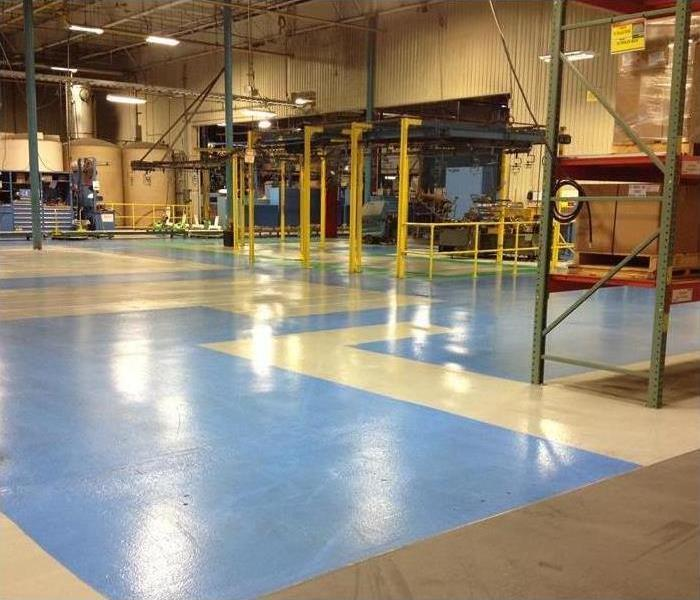Water Damage – Chicago Industrial Plant After