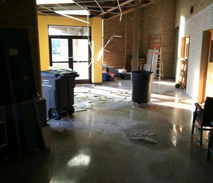 Commercial Water Damage – Austin