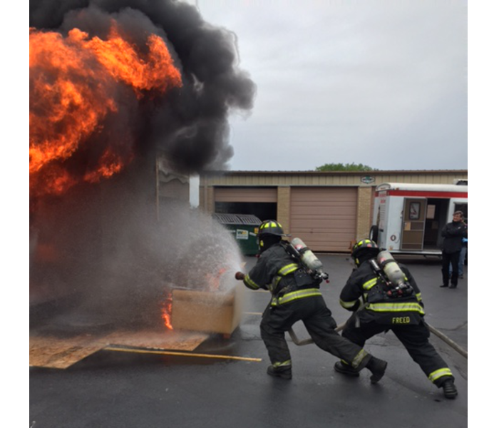 Burn Box Demonstration in the Chicago and Bridgeport Area