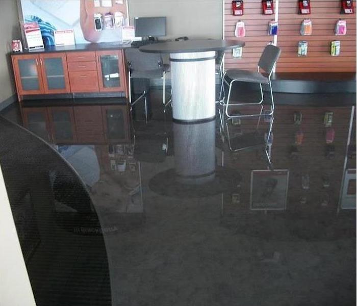 Water Damage – Chicago Retail Store