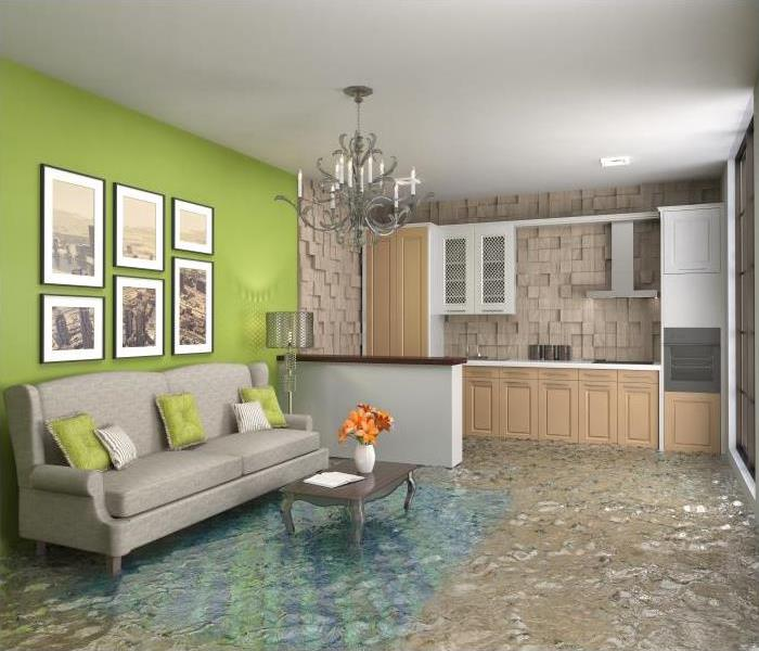 Storm Damage When A Flood Destroys Your Chicago Home, You Need To Contact The Specialists At SERVPRO!